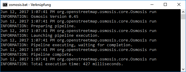 Setting up large scale OSM environments for R using Osmosis